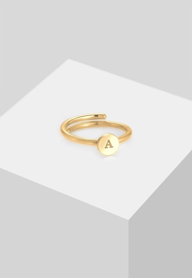 Ringar - gold-coloured