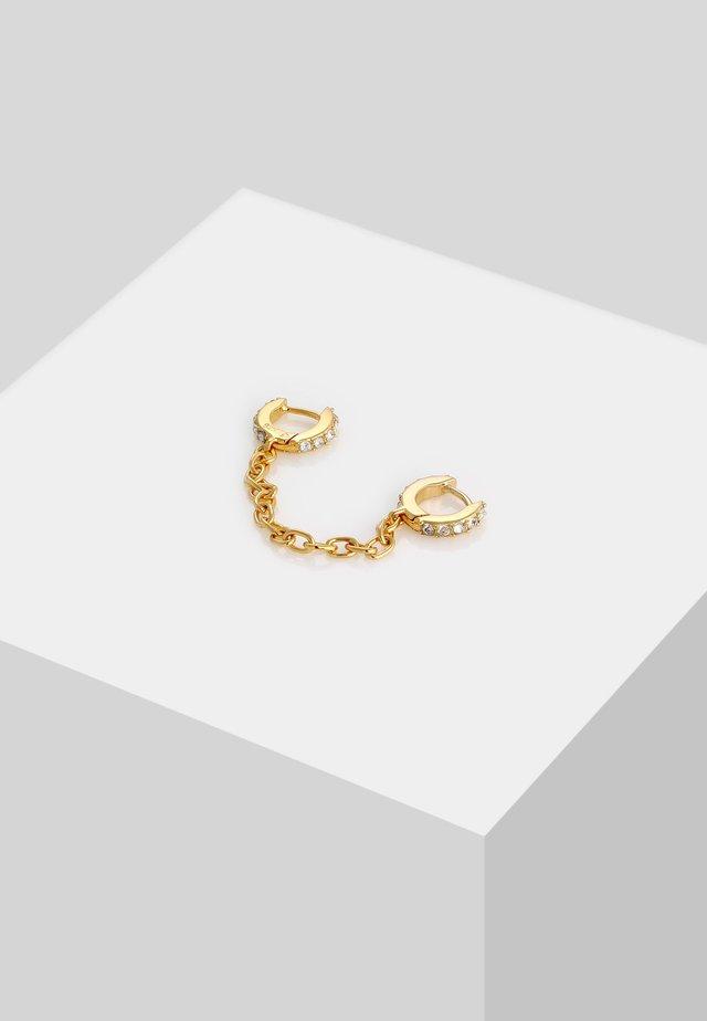 DUO CREOLEN  - Örhänge - gold-coloured
