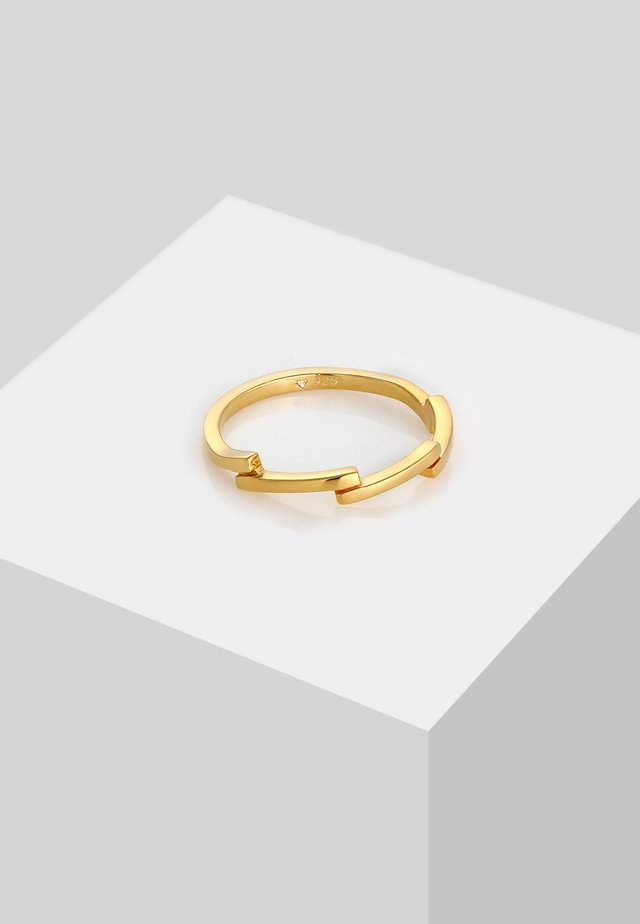 ZICK ZACK  - Bague - gold colored