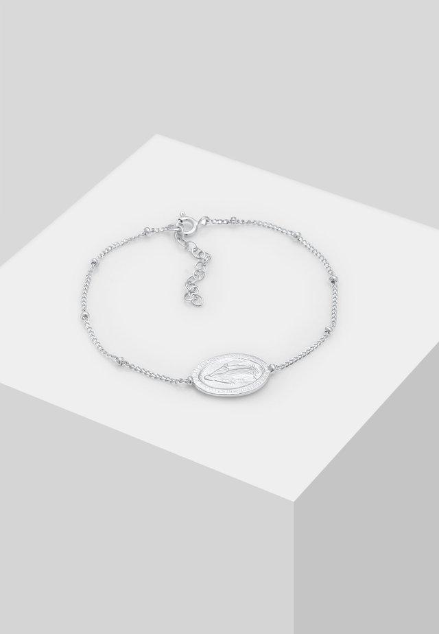 Bransoletka - silver-coloured