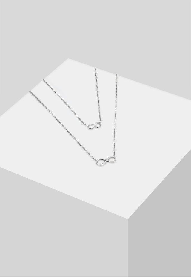 SET - Halskette - silver-coloured