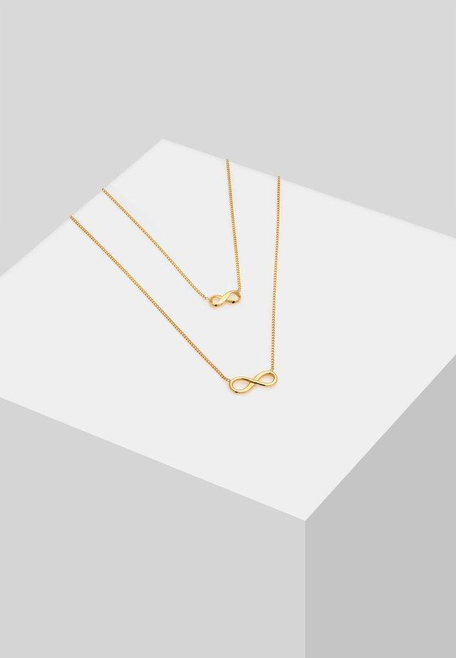 SET - Kaulakoru - gold-coloured