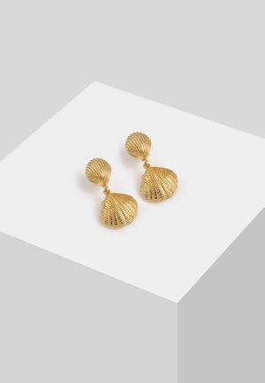 MUSCHEL  - Korvakorut - gold