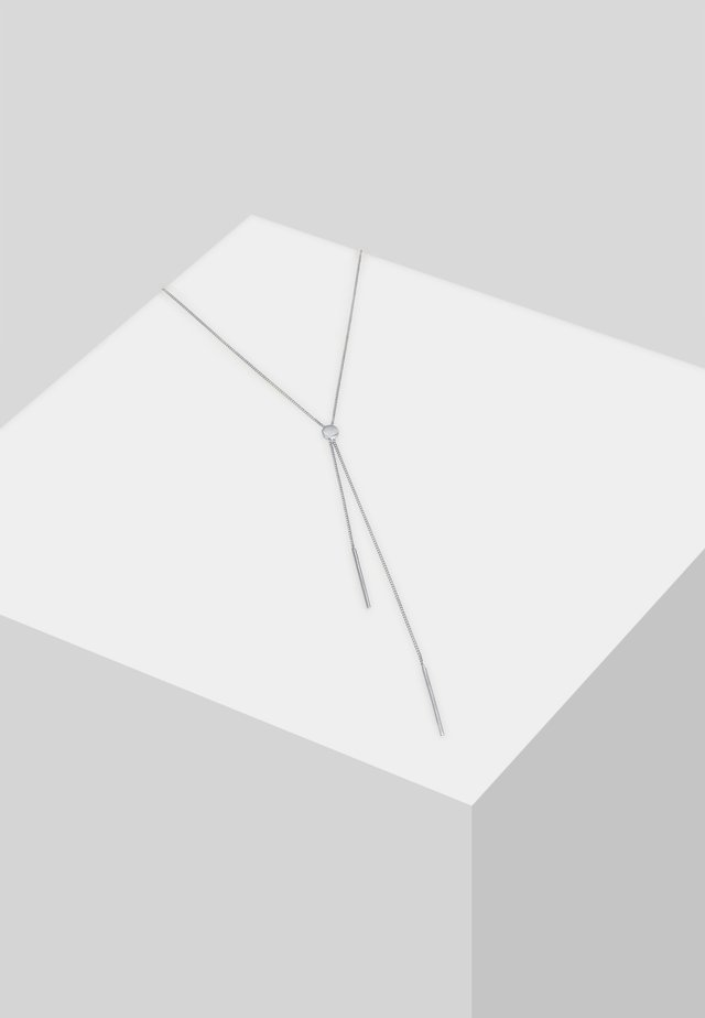 Y-KETTE GEO - Necklace - silber