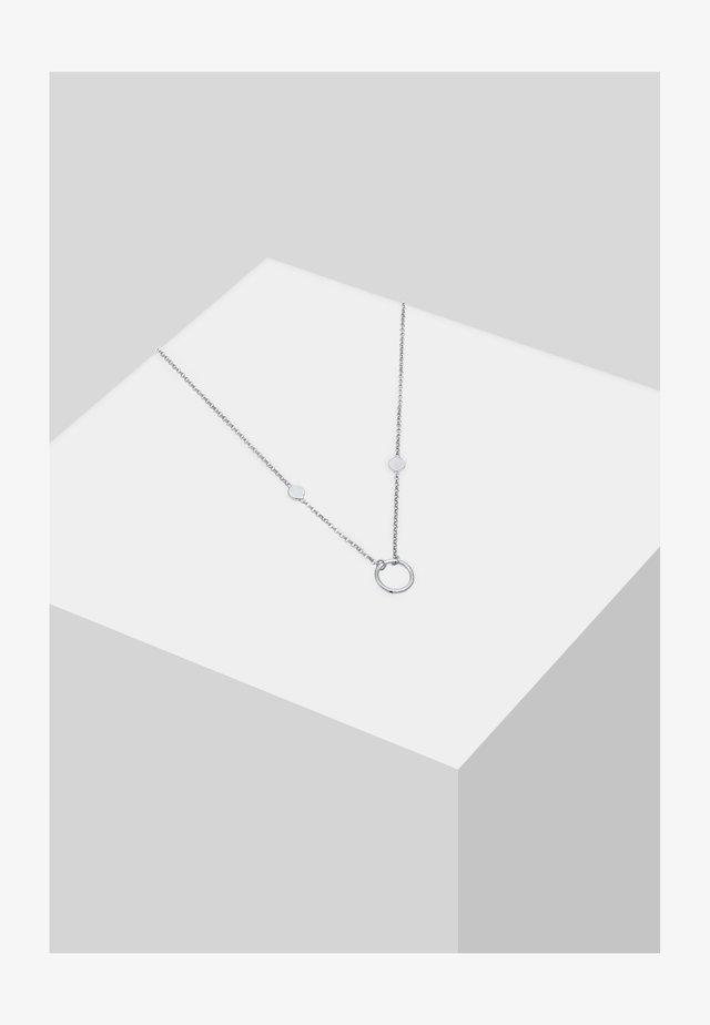 PLÄTTCHEN COINUNG - Halskette - silber