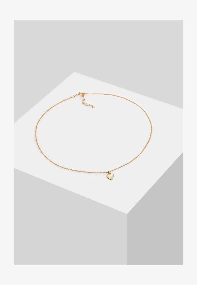 CHOKER HERZ - Halsband - gold