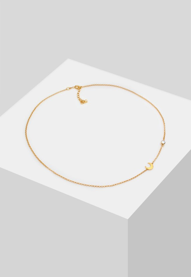 CHOKER HALBMOND ASTRO - Necklace - gold