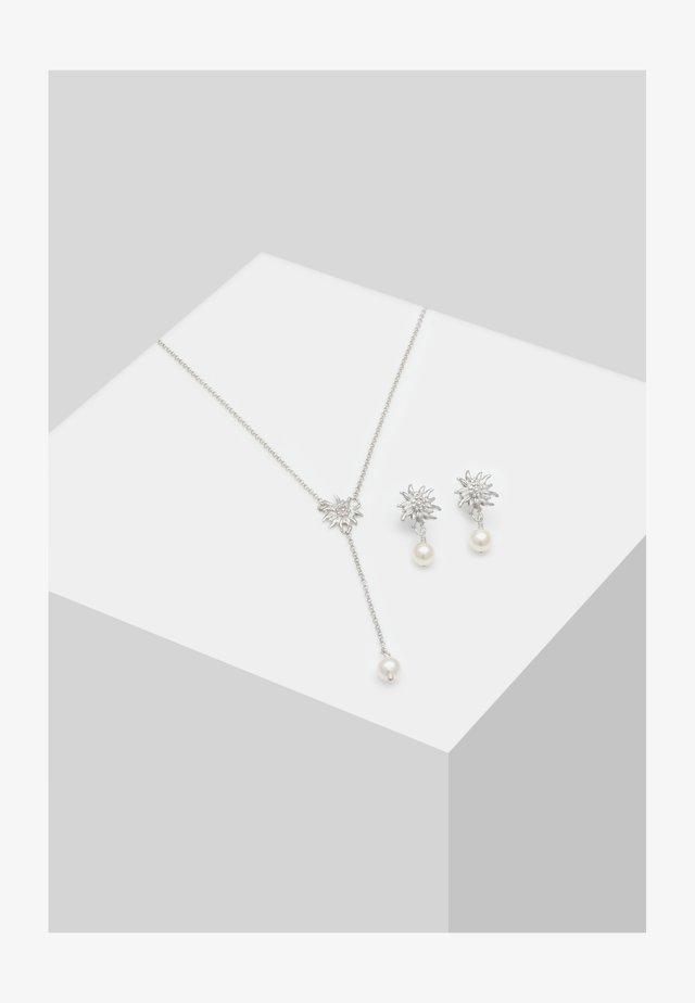 2ER SET EDELWEISS - Earrings - silber