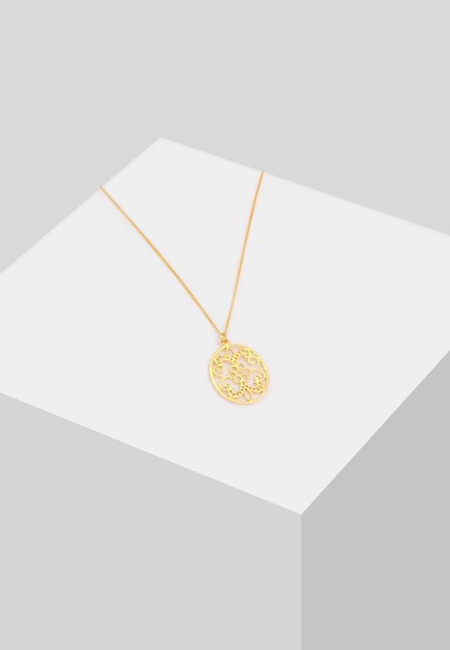 ORNAMENT FLORAL - Halskette - gold
