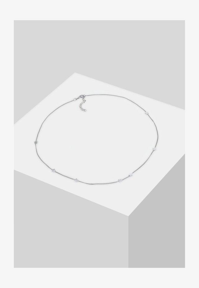 CHOKER STERN ASTRO LOOK - Halskette - silber