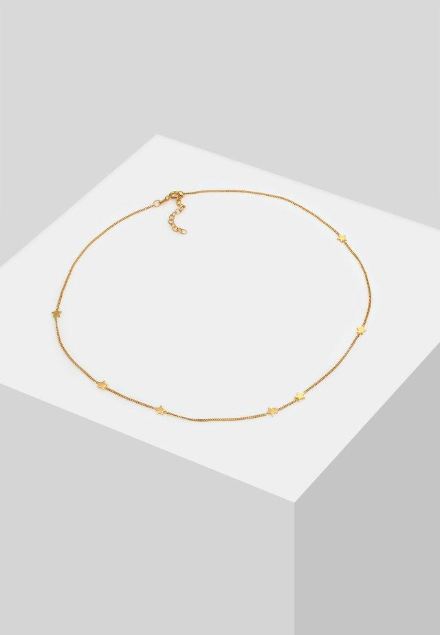 CHOKER STERN ASTRO LOOK - Halsband - gold