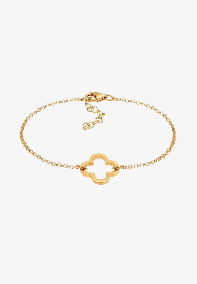 KLEEBLATT CUT-OUT - Bracelet - gold