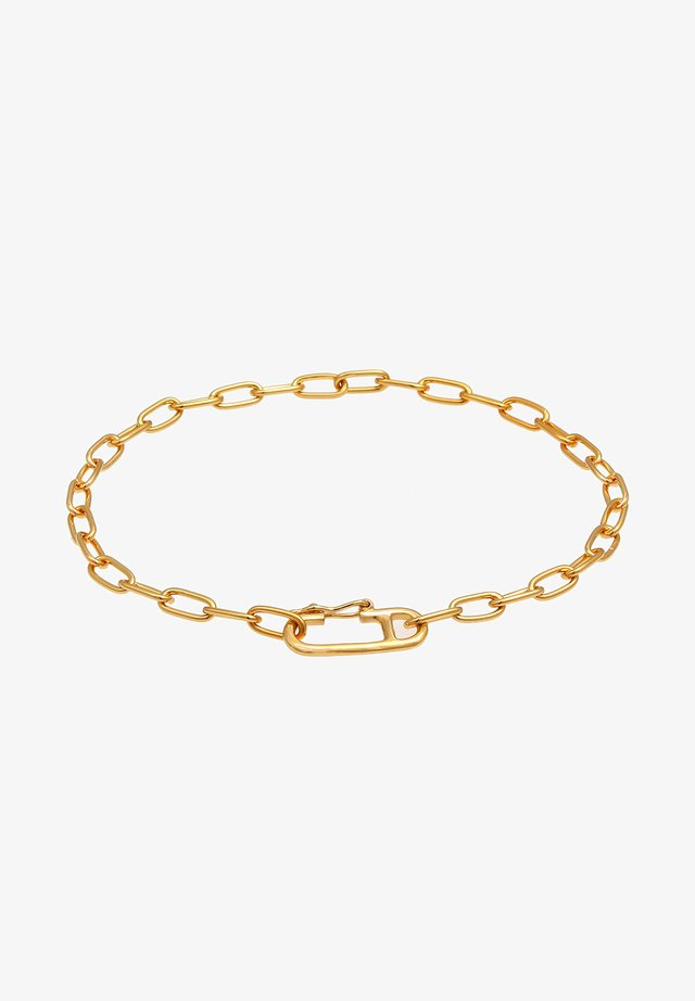 OVAL VERSTELLBAR TREND 925 SILBER - Armband - gold