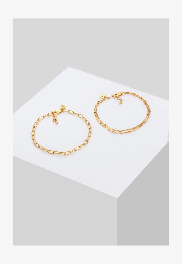 2ER SET LAYER - Bracelet - gold