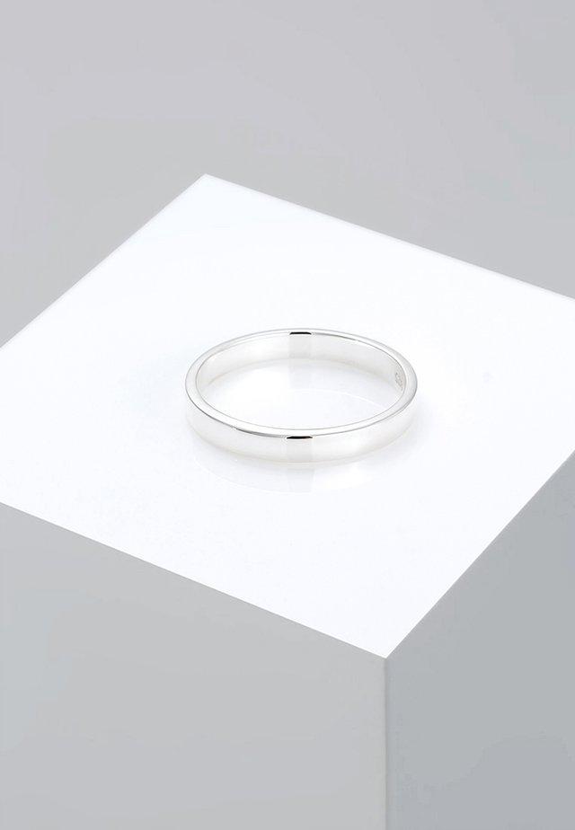 KLASSISCHER - Ring - silber