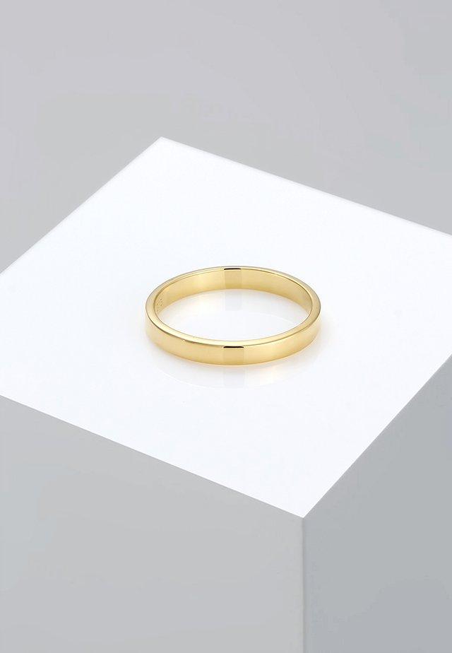 KLASSISCHER - Ring - goldfarben