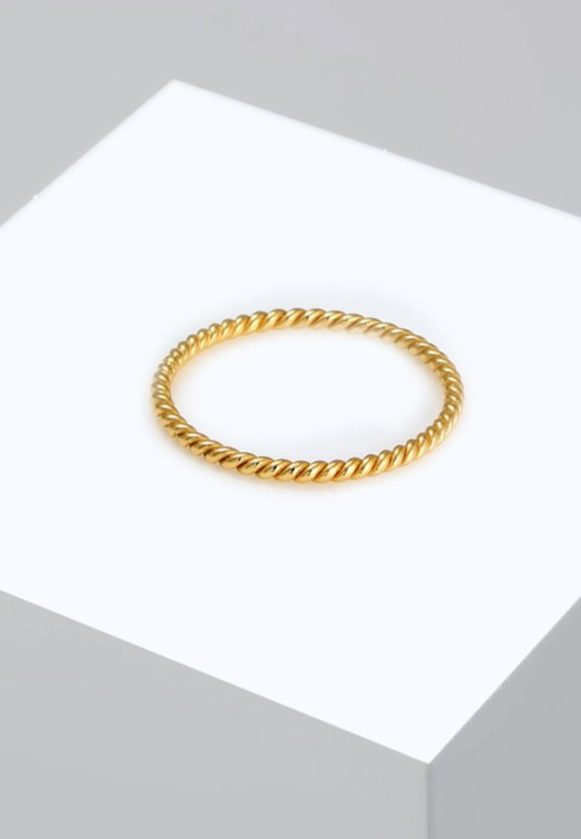 MINIMAL LOOK - Ring - gold-coloured