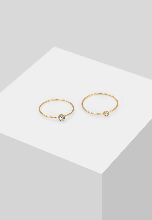 2er Pack - Ring - gold-coloured