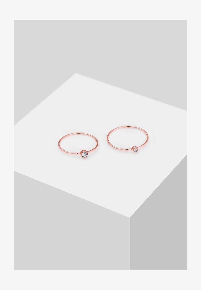2PACK - Ring - roségold