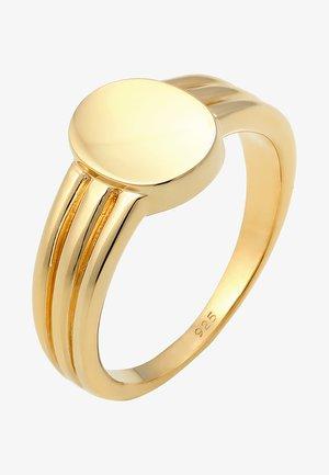 Pierścionek - gold-coloured
