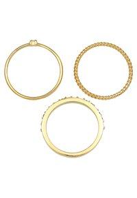 Elli - SET - Ringe - gold - 4