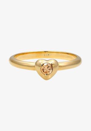 HERZ SYMBOL  - Ringar - gold-colored