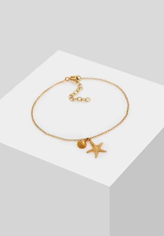 SEESTERN MUSCHEL MEER MARITIM - Bracelet - gold-coloured