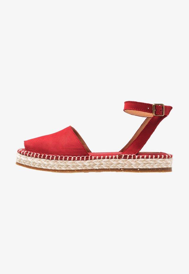 MARINE - Platform sandals - tibet