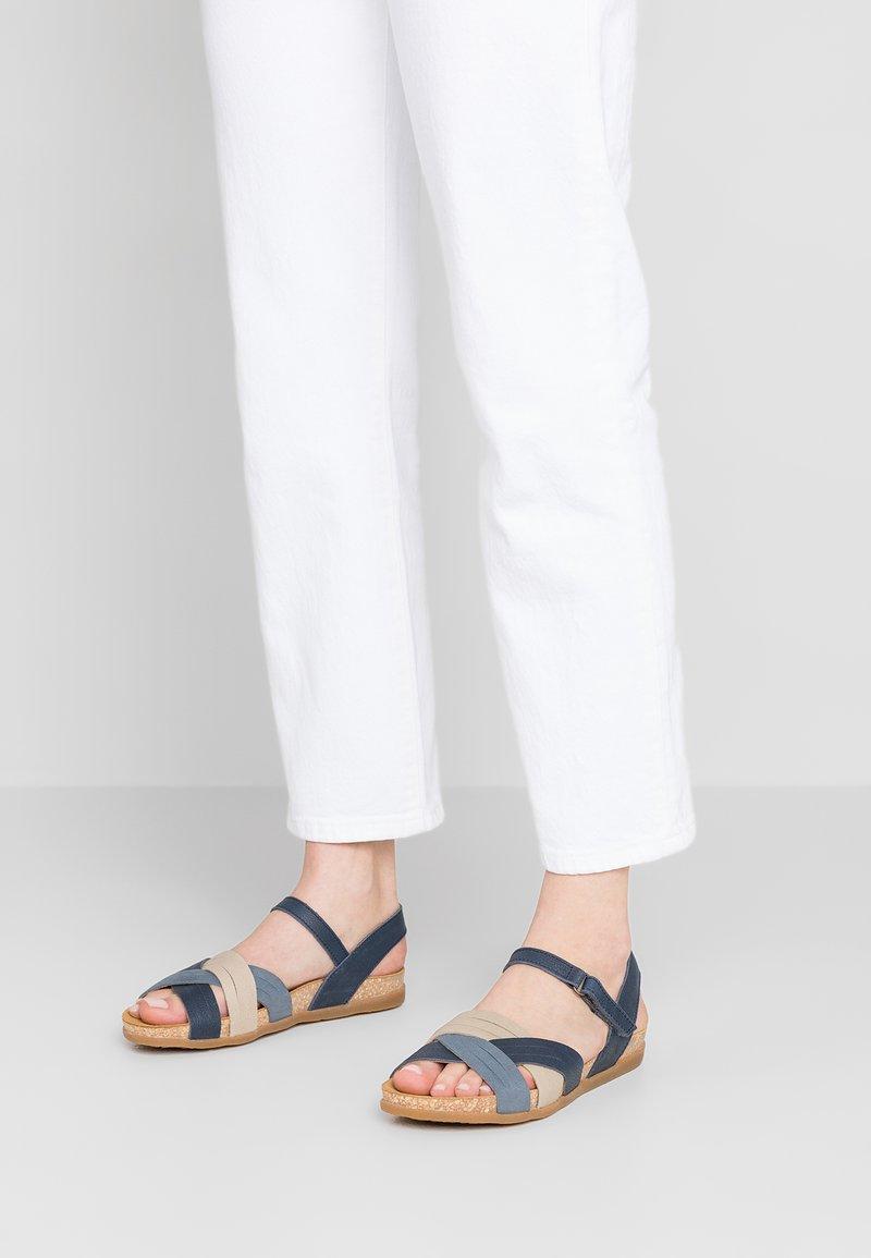 El Naturalista - ZUMAIA - Sandals - marino mixed