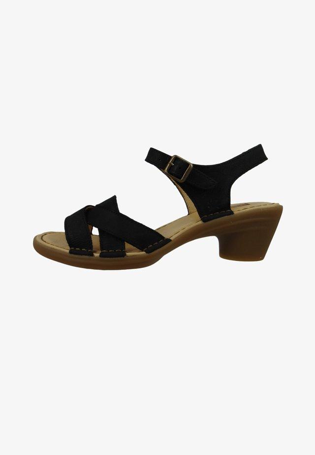 N5372 AQUA - Sandals - black