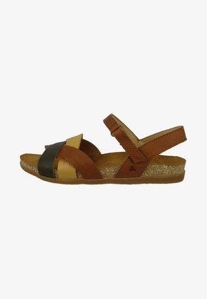 ZUMAIA - Walking sandals - brown