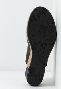 El Naturalista - LEAVES VEGAN - Heeled mules - black - 6
