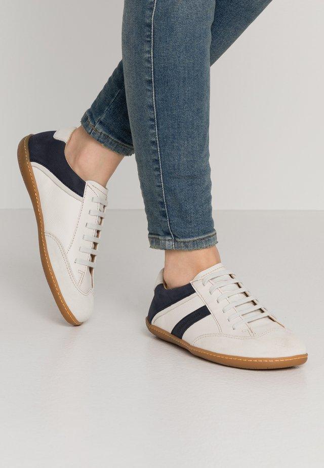 EL VIAJERO - Sneakers basse - white/ocean