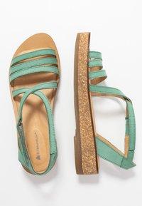 El Naturalista - TÜLBEND - Platform sandals - mint - 3
