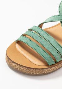 El Naturalista - TÜLBEND - Platform sandals - mint - 2