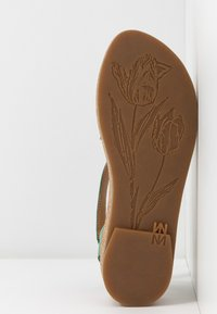 El Naturalista - TÜLBEND - Platform sandals - mint - 6