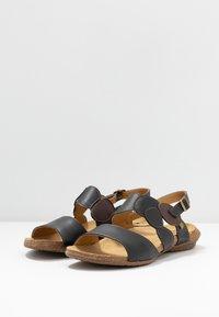 El Naturalista - WAKATAUA VEGAN - Sandals - black rugged - 4