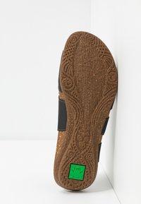 El Naturalista - WAKATAUA VEGAN - Sandals - black rugged - 6
