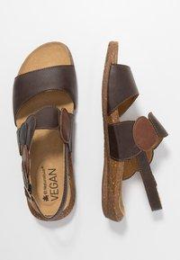 El Naturalista - WAKATAUA VEGAN - Sandals - brown - 3