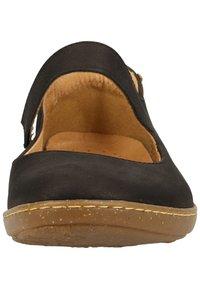 El Naturalista - EL NATURALISTA BALLERINAS - Ankle strap ballet pumps - black - 6