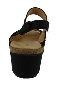 El Naturalista - N5008 LEAVES  - Platform sandals - black - 4