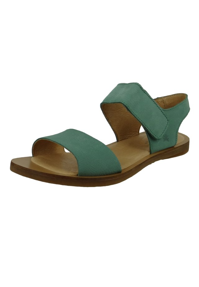 NF30 TULIP  - Ankle cuff sandals - mint