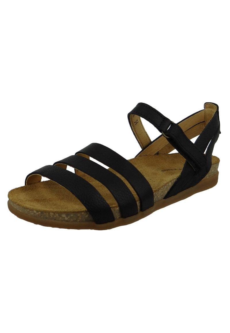 El Naturalista - Ankle cuff sandals - black