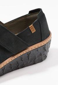 El Naturalista - MYTH YGGDRASIL - Platform heels - black - 2
