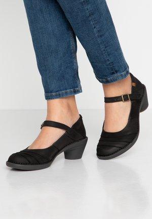 AQUA - Classic heels - pleasant black/black
