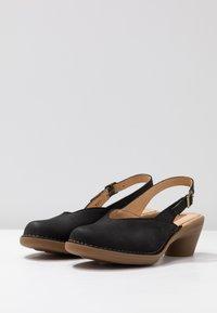 El Naturalista - AQUA - Classic heels - black - 4