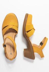 El Naturalista - AQUA - Classic heels - curry - 3