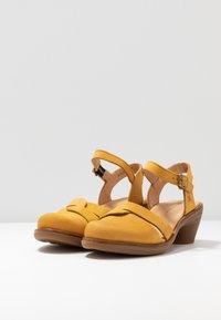 El Naturalista - AQUA - Classic heels - curry - 4