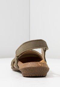 El Naturalista - WAKATAUA - Slingback ballet pumps - kaki - 5