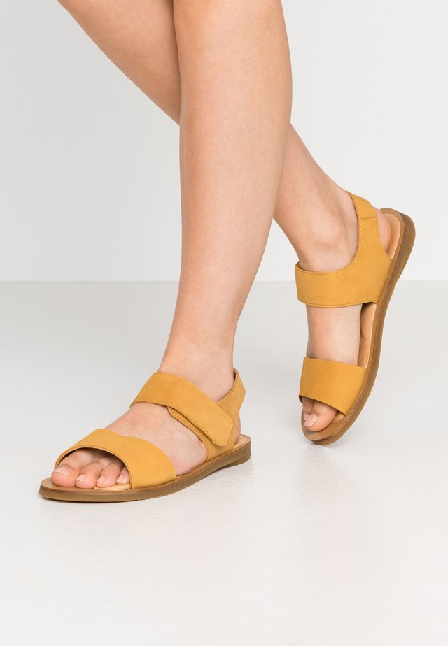 TULIP - Sandals - curry